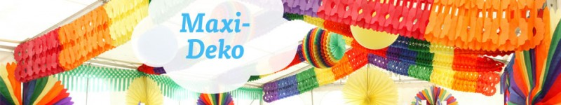 Zelt Deko Xxl : Partydeko xxl maxi deko in saal und zelt hier günstig